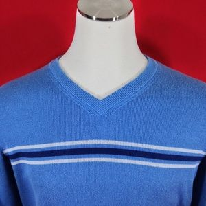 Aeropostale V-neck Blue Sweater Sz XL